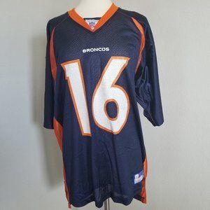 NFL Equipment Jersey Denver Broncos #16 Plummer